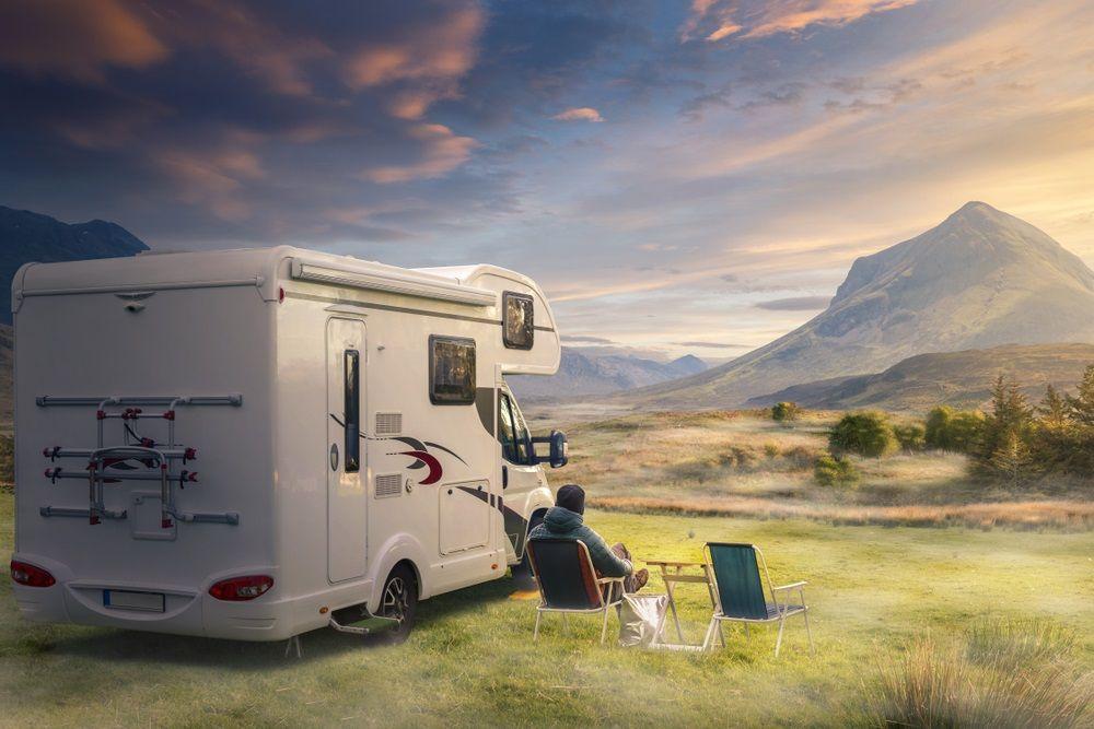 Camper rondreis